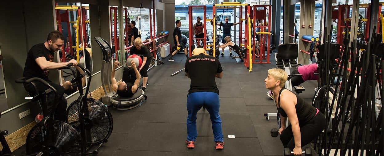 Cross Training στο Γυμναστήριο
