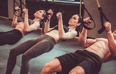 TRX στο Gym
